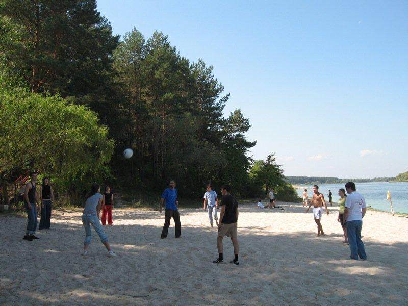 Voleyball on the beach