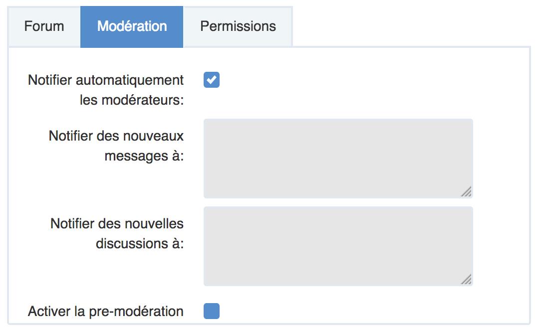 pré-modération eXo Platform