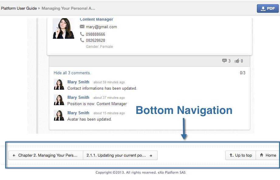 doc-website-navigation