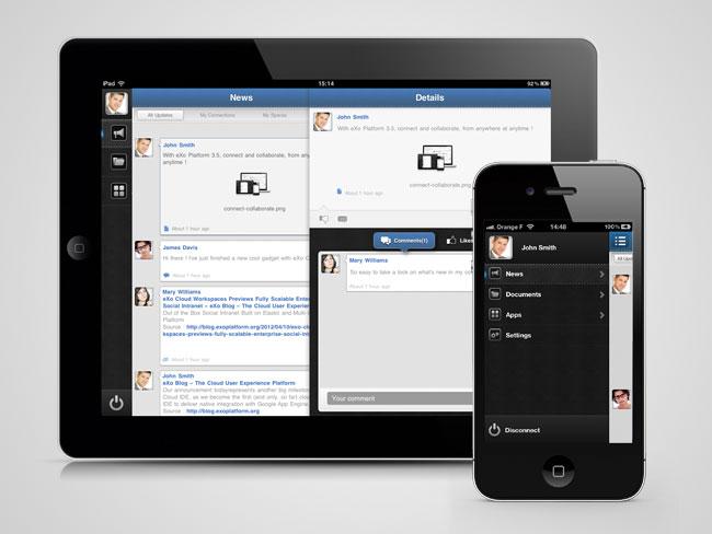 eXo Mobile iOS App