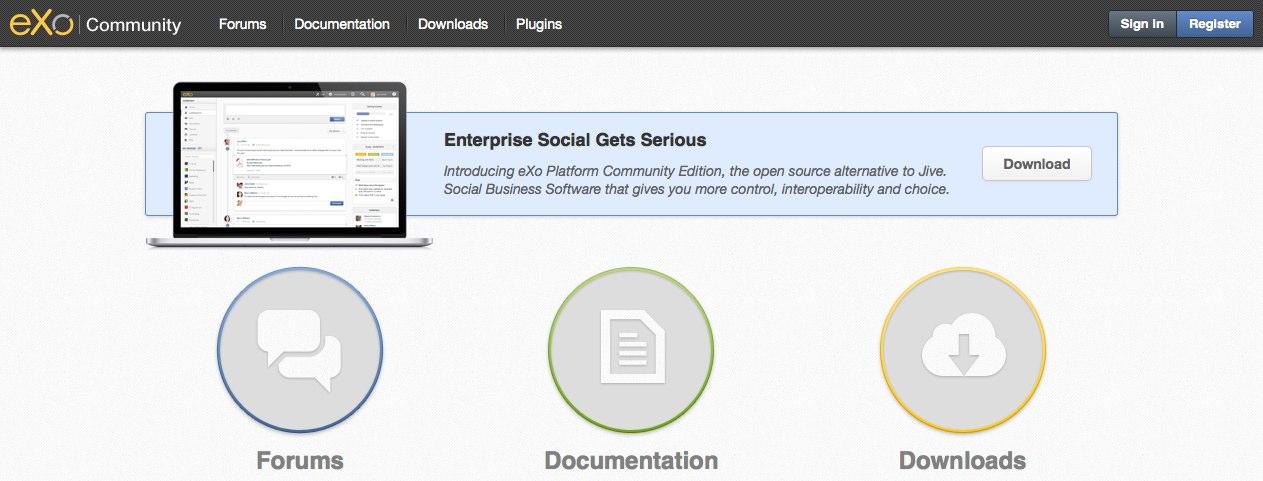 Open Source Enterprise Social Platform | eXo Blog and News