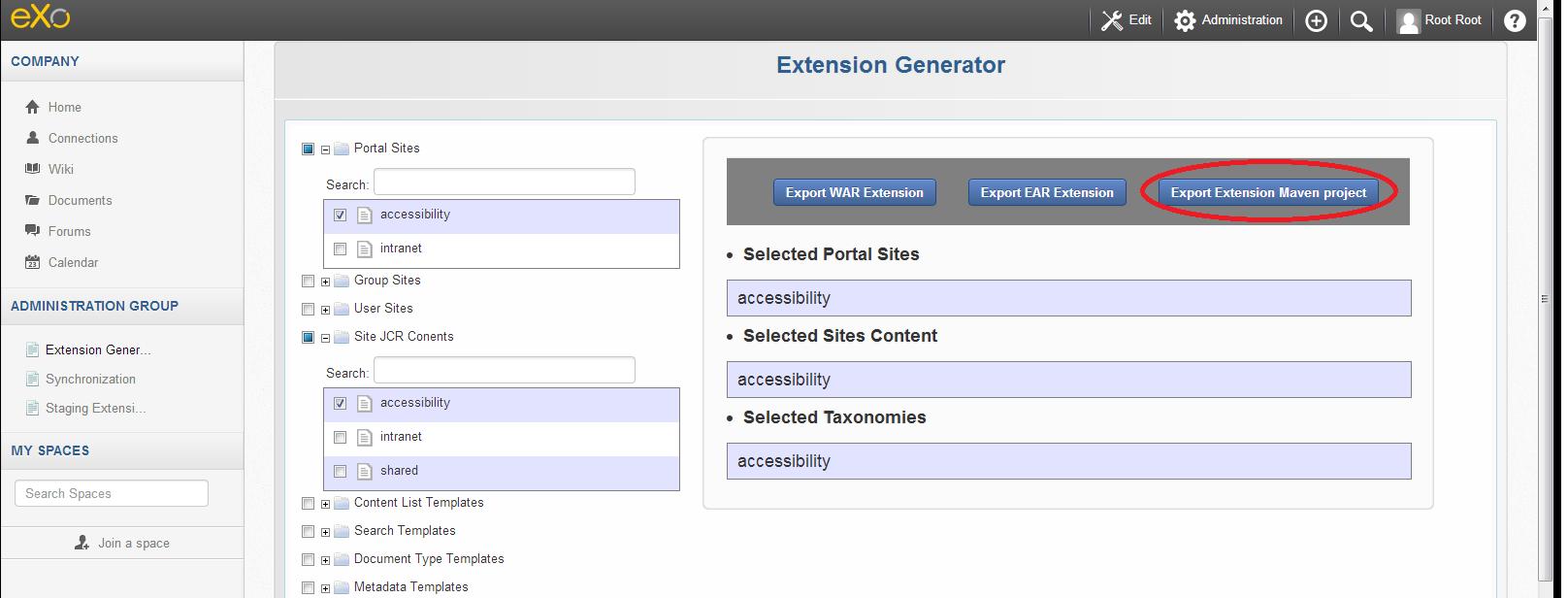 4-Extension-Generator