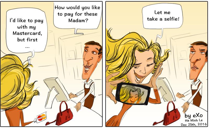 SelfiePay Mastercard Biometrics
