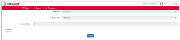 Workflow administrator in Bonita Portal