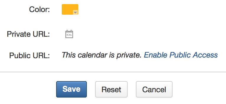 Public access to eXo Calendar