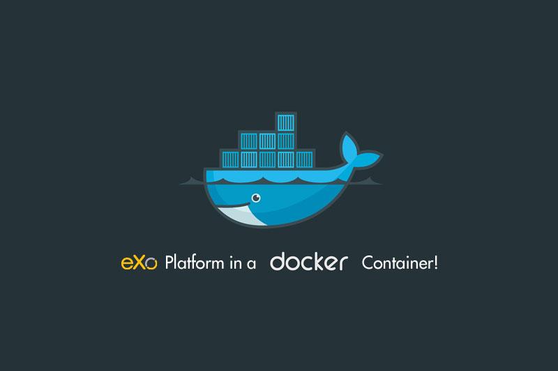 eXo-Platform-in-a-Docker-Container