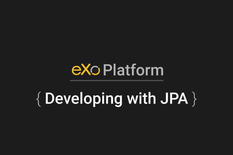 DevelopingwithJPA