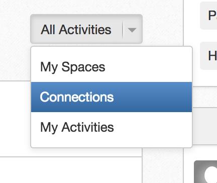 Filter the eXo Platform homepage activity stream