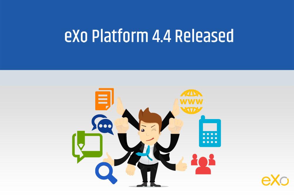 Release of eXo Platform 4.4
