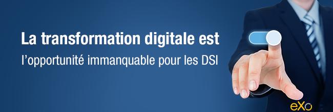 transformation digitale pour DSI