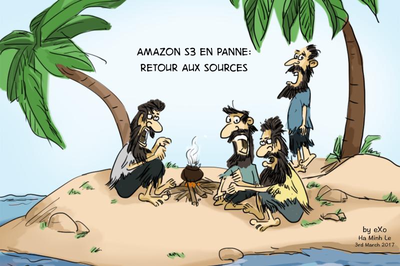 Amazon AWS S3 en panne