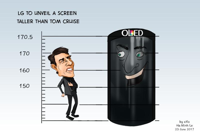 LG OLED Screen