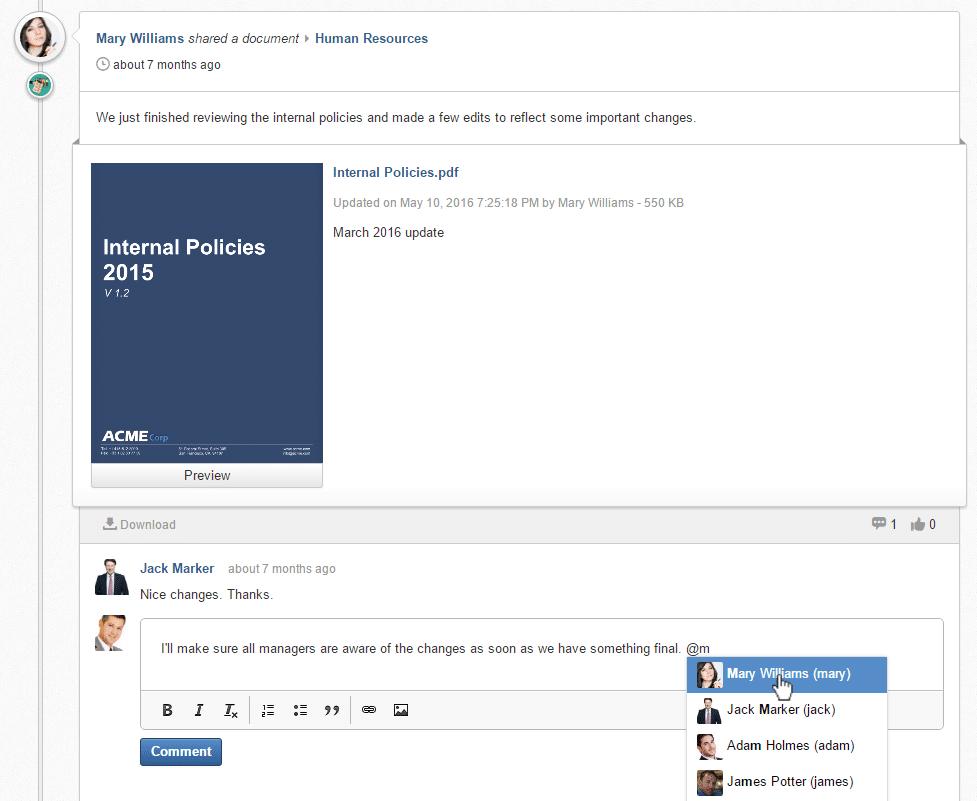 5 Ways to Find Documents in eXo Platform | Team
