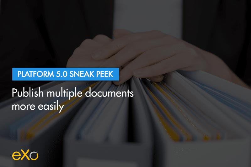 publish documents easily