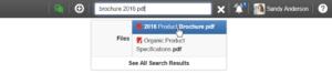 trouver des documents eXo avec extension de fichier dans le nom