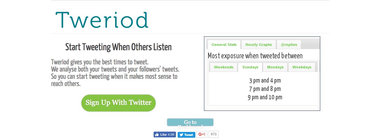 Tweriod : Twitter Tool