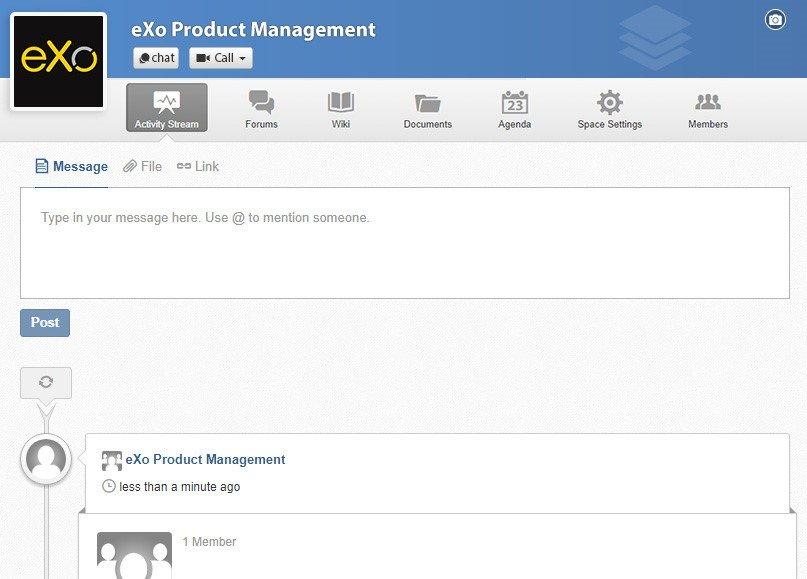 add a banner eXo