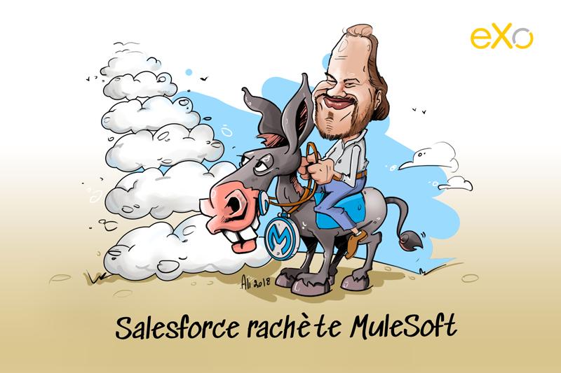 Salesforce rachète Mulesoft