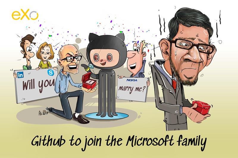 GitHub, Microsoft