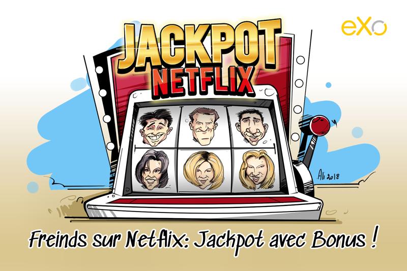 Netflix, Friends