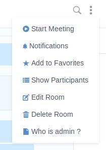 Adding Room Action on eXo Platform 5.2