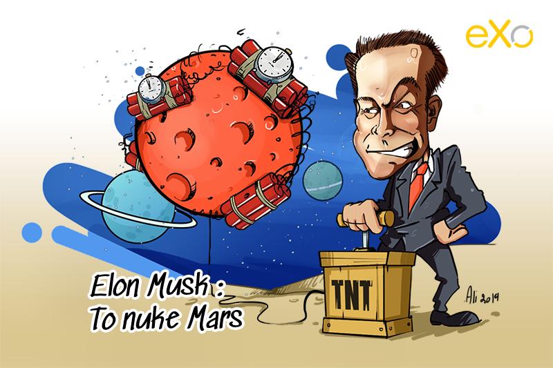 Elon Musk: To nuke Mars