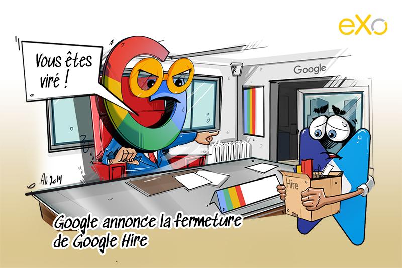 Google annonce la fermeture de Google Hire