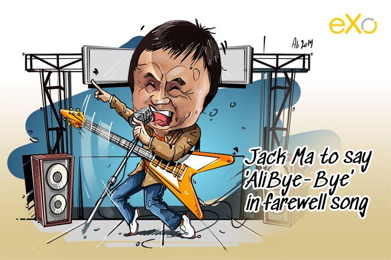 Jack Ma to say 'Goodbye'