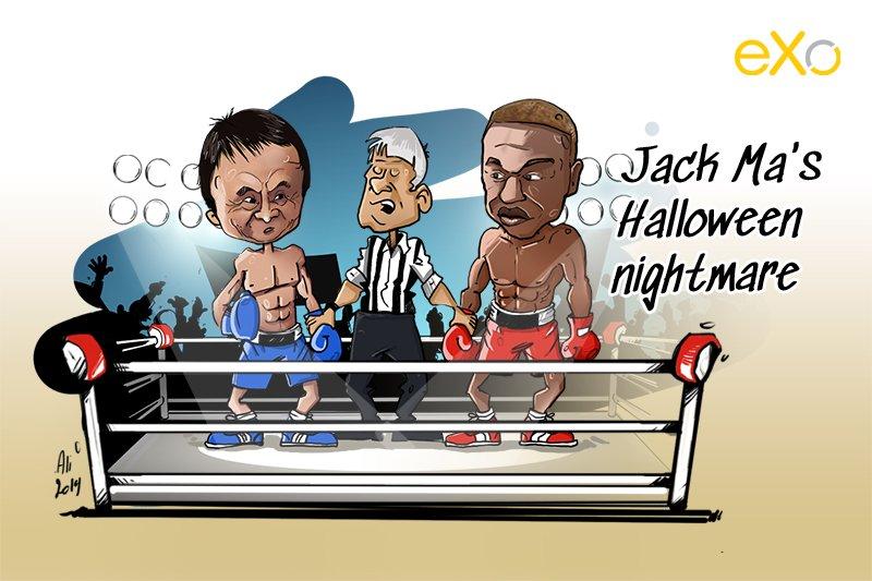 Jack Ma, Halloween, Floyd Mayweather