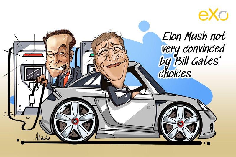 Bill Gates, Elon Musk