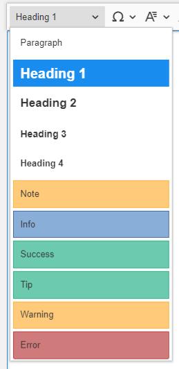 Auto-formatting Wiki eXo Platform