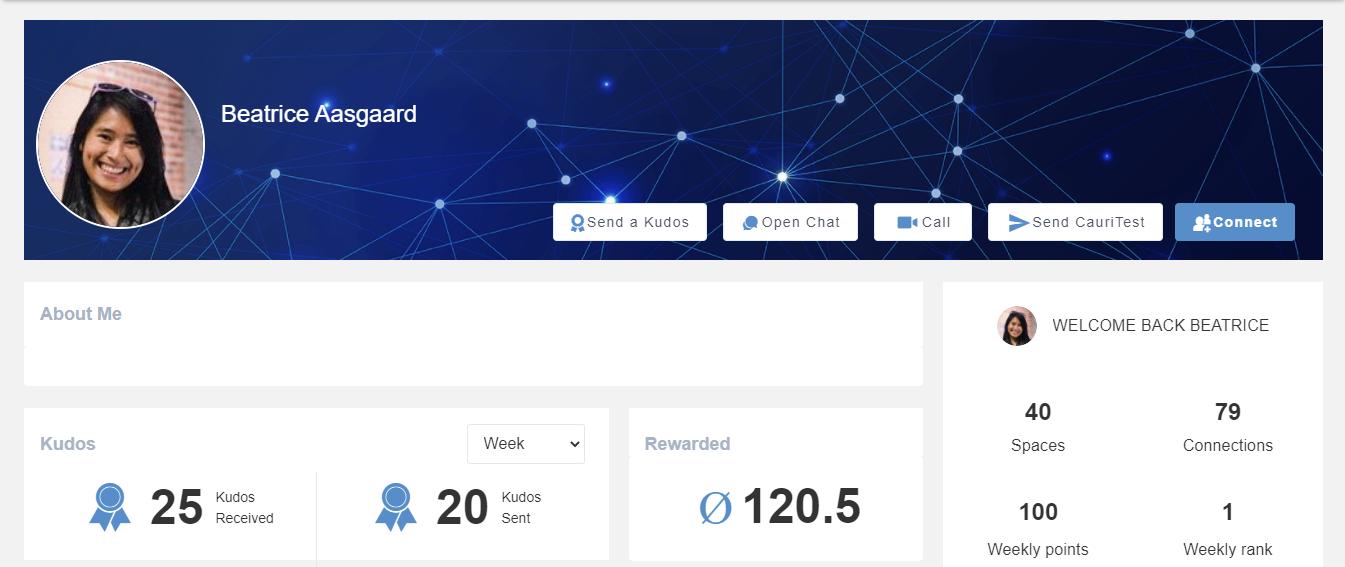 Profile User eXo Platform 6