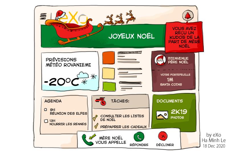 Père Noël passe au numérique