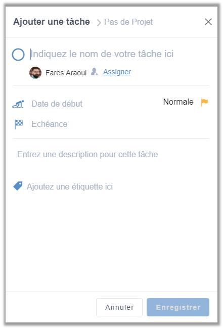 eXo Platform6.1: Ajouter tâche de l'application de gestion des tâches