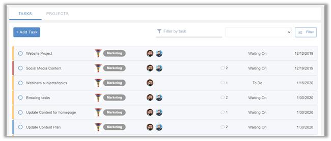 eXo Platform 6: Task Management Due Date