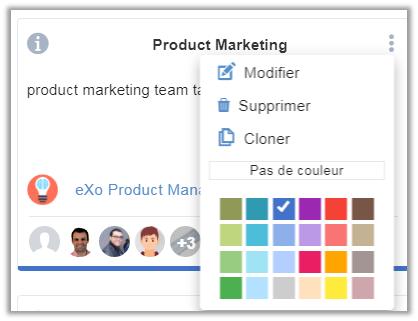 eXo Platform6.1: expérience utilisateur repensée de l'application de gestion des tâches