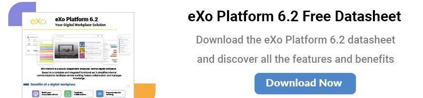 eXo Platform 6.2 Datasheet