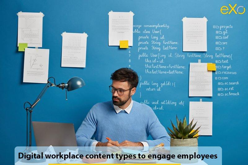 digital workplace content ideas