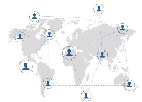 gestion de communauté de l'entreprise
