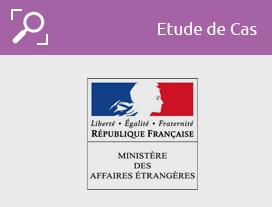 Etude de cas-ministère français affaires étrangères