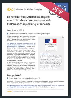 Etude de cas ministère Français des affaires étrangaires