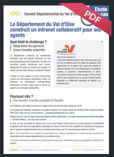 Etude de cas Val d'Oise