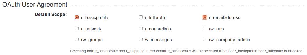 Linkedin oauth user details
