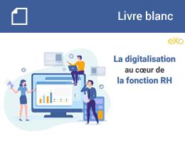 Livre Blanc : La digitalisation au cœur de la fonction RH