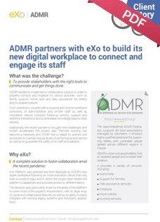 ADMR: case study
